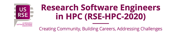 Research Software Engineers in HPC Workshop 2020 logo