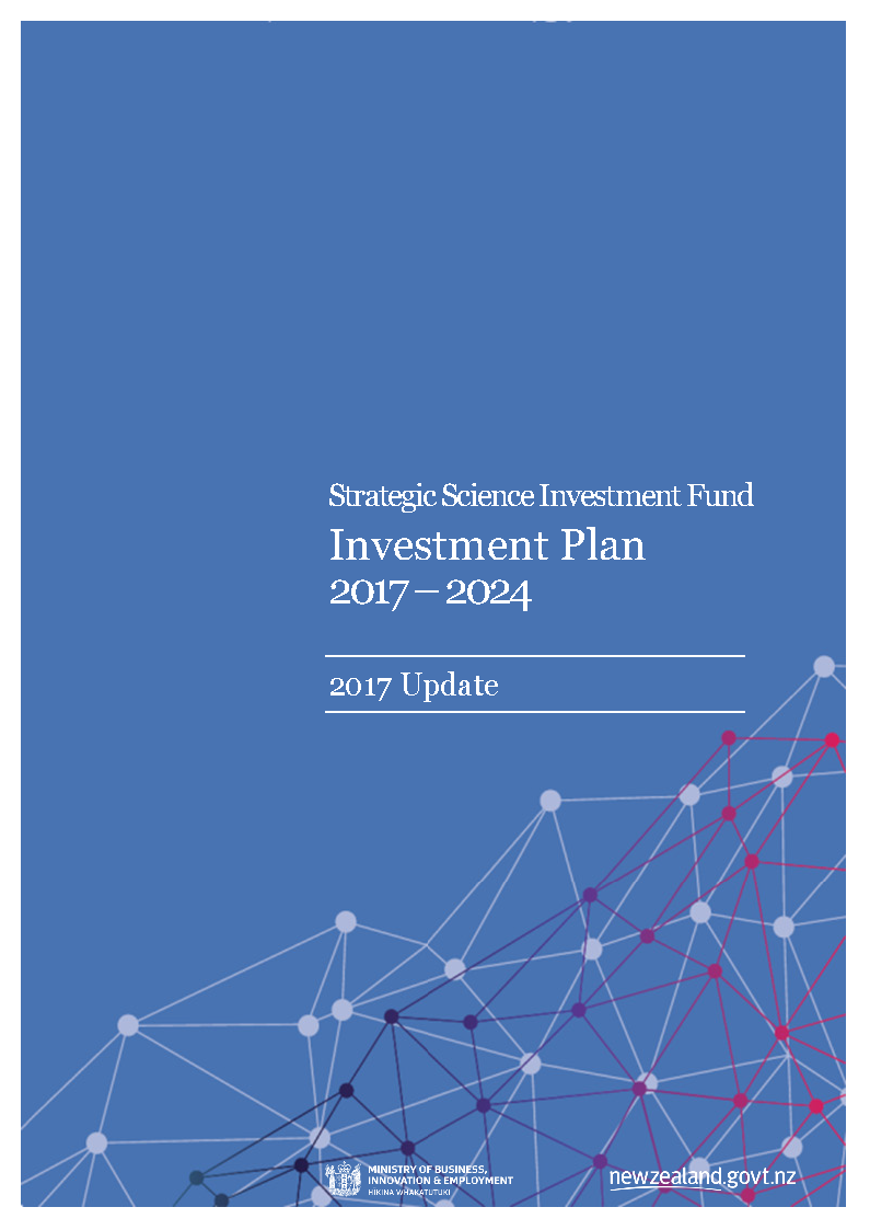 SSIF Investment Plan  - Annual Update 2017